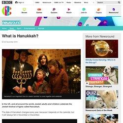 What is Hanukkah? - CBBC Newsround
