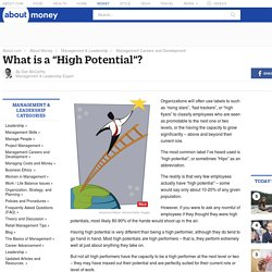 "What is a ""High Potential""?"