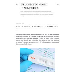 What Is HIV And How The Test Is Beneficial?