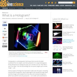 Hologram Definition