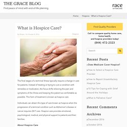 What is hospice care? - Grace Resources