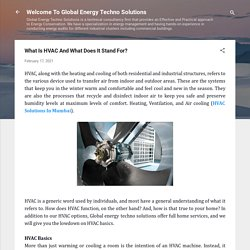 What Is HVAC And What Does It Stand For?