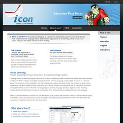 What is Icon™ Curriculum Mapping