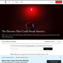 What If Trump Refuses to Concede? click 2x