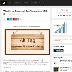 What is an Image Alt Tag? Impact on SEO.