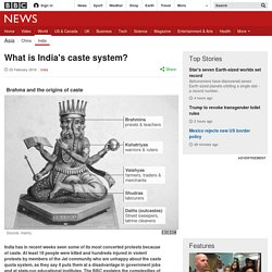 What is India's caste system?