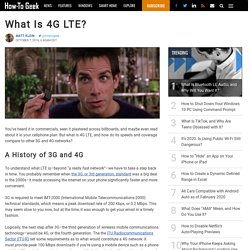 What Is 4G LTE?