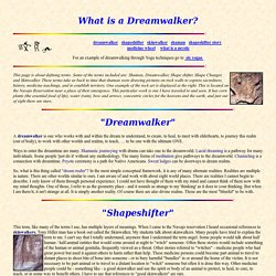 What Is A Dreamwalker?