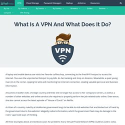 What Is A VPN And What Does It Do?