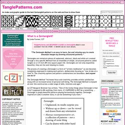 What is a Zentangle®?