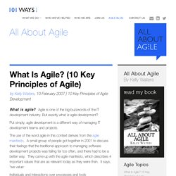What Is Agile? (10 Key Principles of Agile)