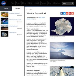 What Is Antarctica?