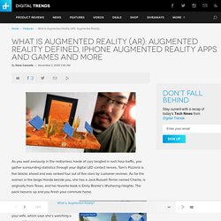 What is Augmented Reality (AR)