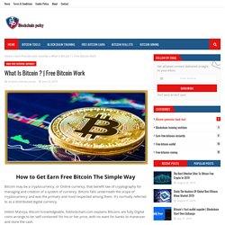 Free Bitcoin Work