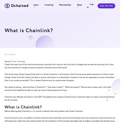 What is Chainlink? - Dchained