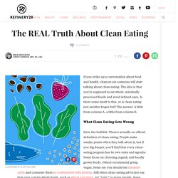 What Is Clean Eating Tips
