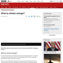 BBC intro to COP21 (with video)
