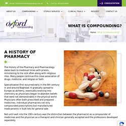 Compounding Pharmacy in WA