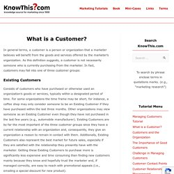 What is a Customer? - KnowThis.com