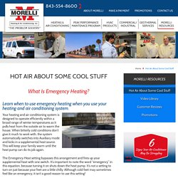 What Is Emergency Heating?