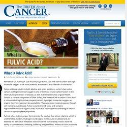 What is Fulvic Acid? By Dr. Dan Nuzum