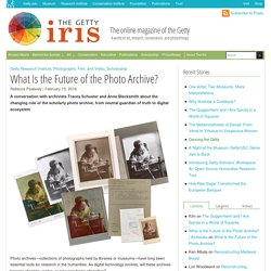 What Is the Future of the Photo Archive?