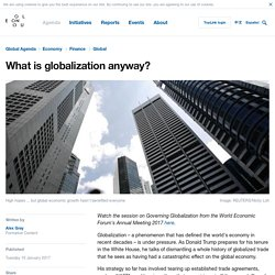 What is globalization anyway?