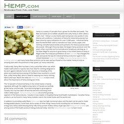 What is hemp?-HEMP