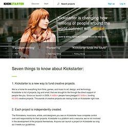 What is Kickstarter
