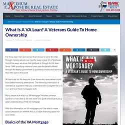What is a VA Loan