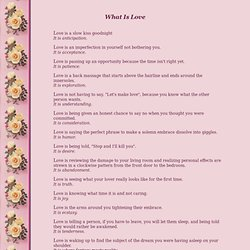 What Is Love - StumbleUpon