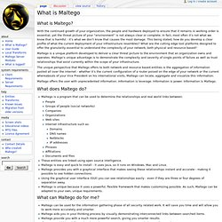 What is Maltego - Paterva Wiki