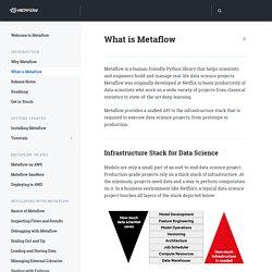 What is Metaflow - Metaflow