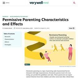 What Is Permissive Parenting?