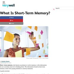 What Is Short-Term Memory?