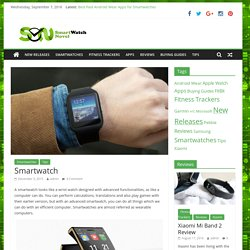 What is Smartwatch?
