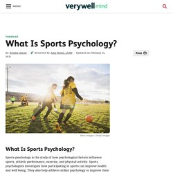 What Is Sports Psychology?