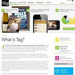 What Is Tag? | Microsoft Tag