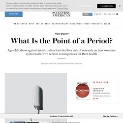 What Is the Point of a Period?