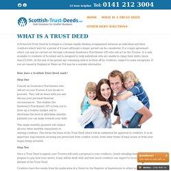 Trust Deeds Scotland