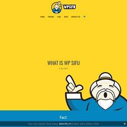 What is WP Sifu | WP Sifu