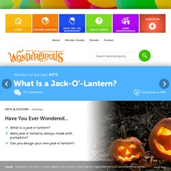What Is a Jack-O'-Lantern?