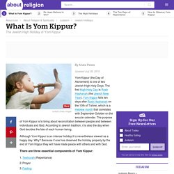 What Is the Jewish High Holiday of Yom Kippur