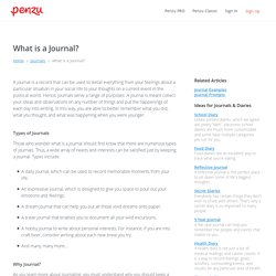 What is a Journal