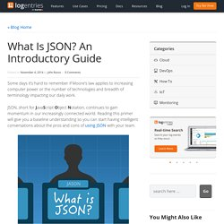 What is JSON?: An Introductory Guide