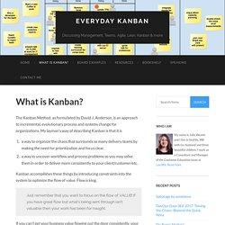 What is Kanban?