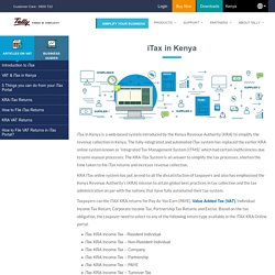 iTax by KRA - Tally Solutions