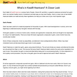 What's in Kwai® Heartcare? A Closer Look