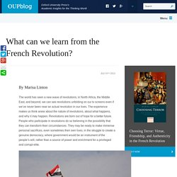 What can we learn from the French Revolution?