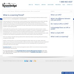What is a Learning Portal